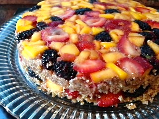 Raw Vegan Upside Down Cake