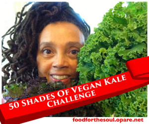 50 Shades Of Vegan Kale Challenge