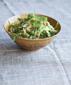 All Green Spring Slaw