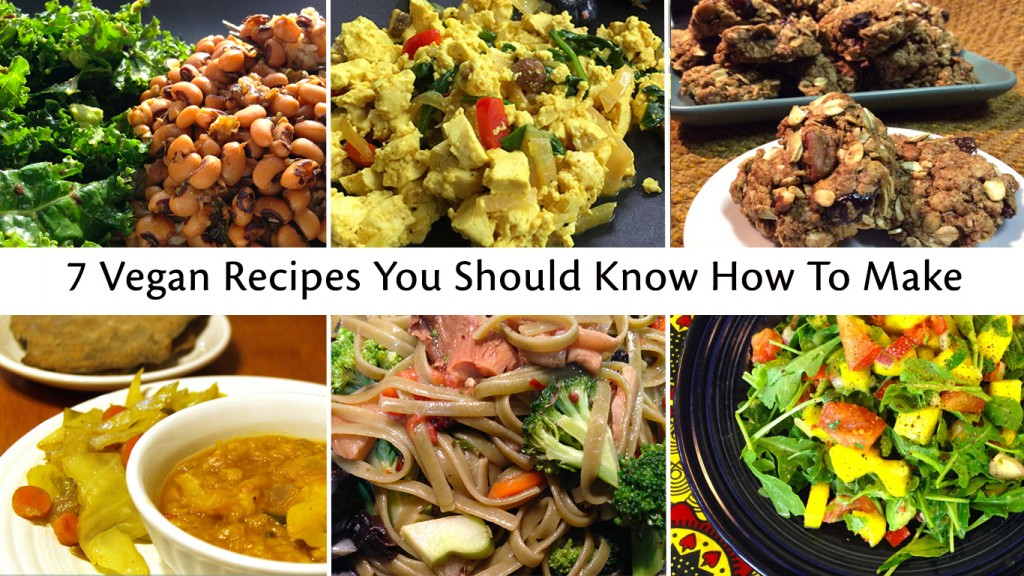 Seven Vegan Recipes For Beginners