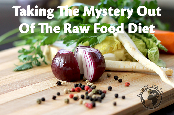 basic recipes for raw food diet