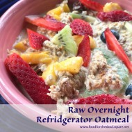Raw Overnight Oatmeal