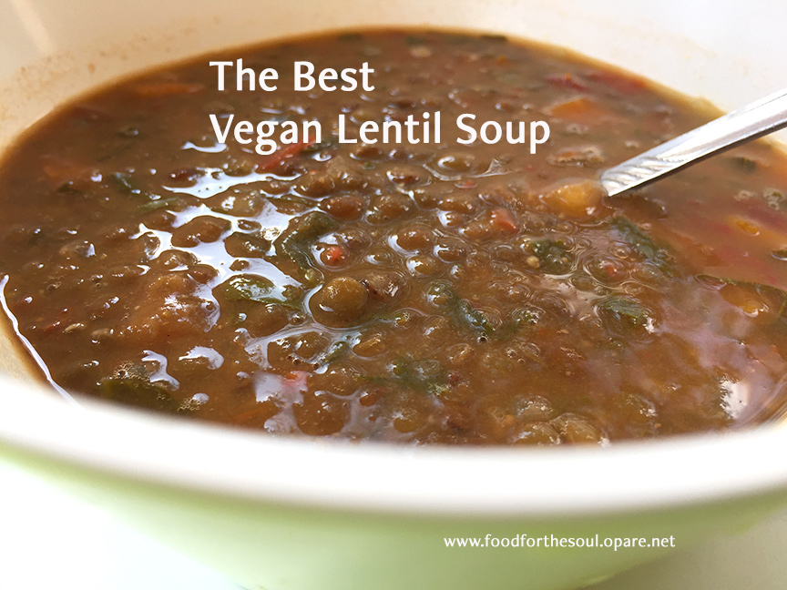 best vegan lentil soup
