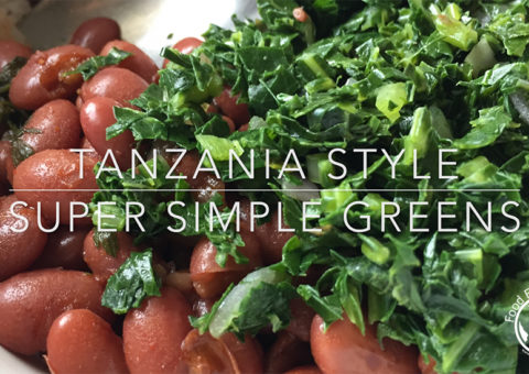 fast and easy vegan greens recipe