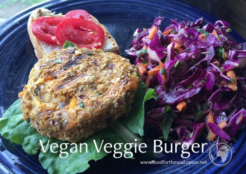 vegan veggie burger recipe