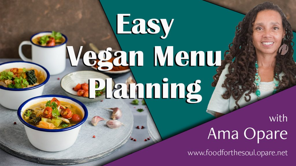 easy vegan meal planning