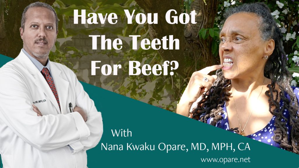 have you got the teeth for beef
